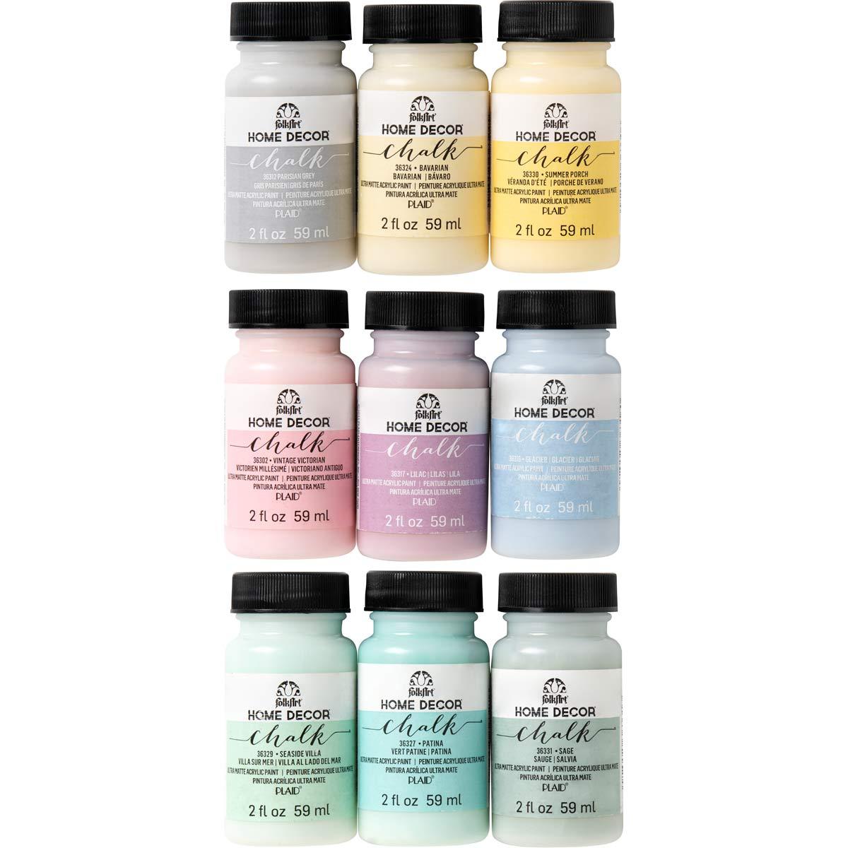 FolkArt ® Home Decor™ Chalk 9 Color Set 2