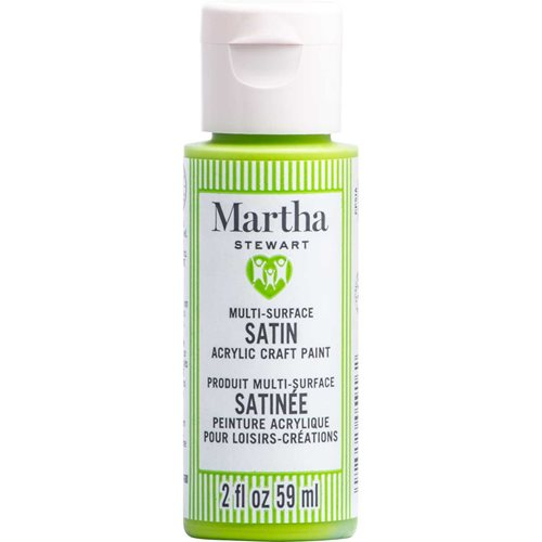 Martha Stewart ® Multi-Surface Satin Acrylic Craft Paint CPSIA - Green Apple, 2 oz. - 5916