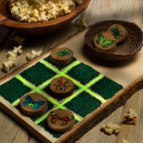 Tic-Tac-Toe Craft Idea for Kids
