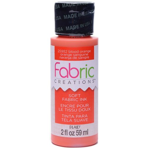 Fabric Creations™ Soft Fabric Inks - Blood Orange, 2 oz.