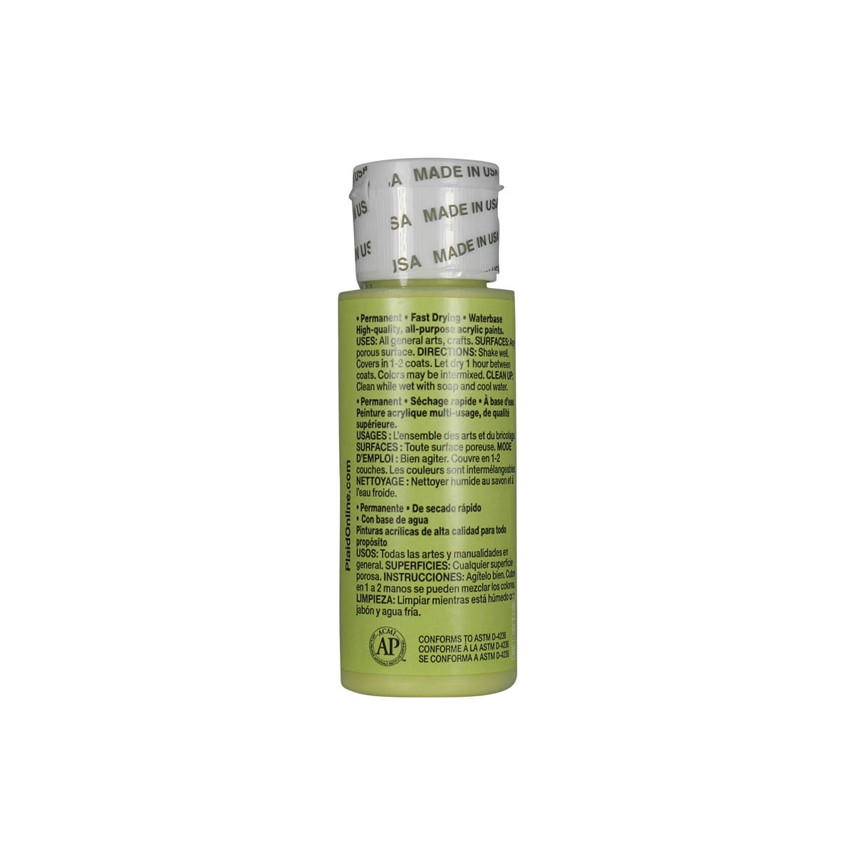 Apple Barrel ® Colors - Light Leaf Green, 2 oz.