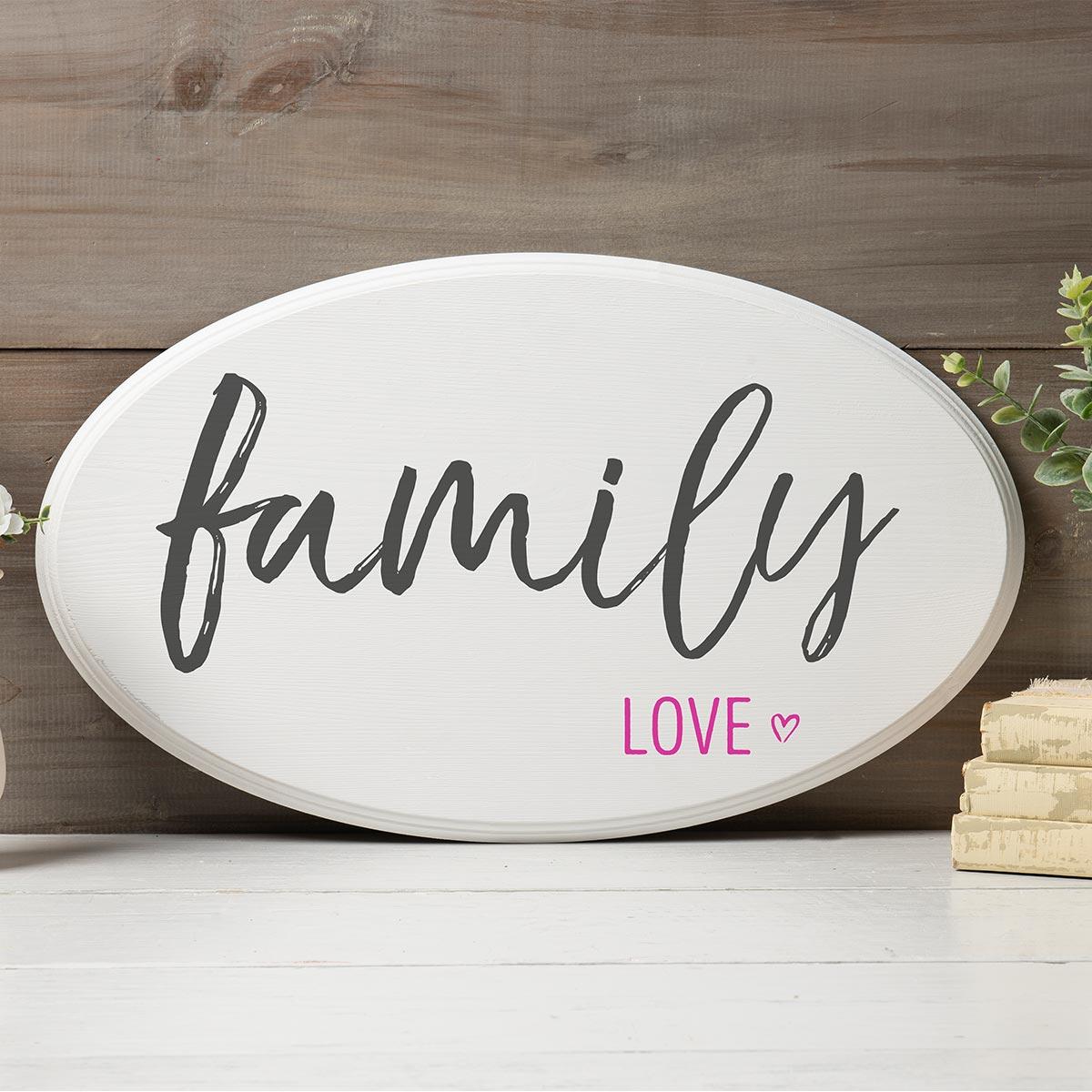 FolkArt ® Sign Shop™ Mesh Stencil - Family Love - 63382