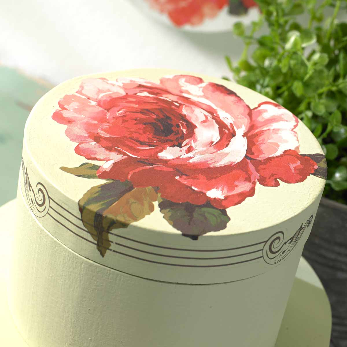 FolkArt ® Rub-On Décor Transfer - Floral, 3 pc. - 36107