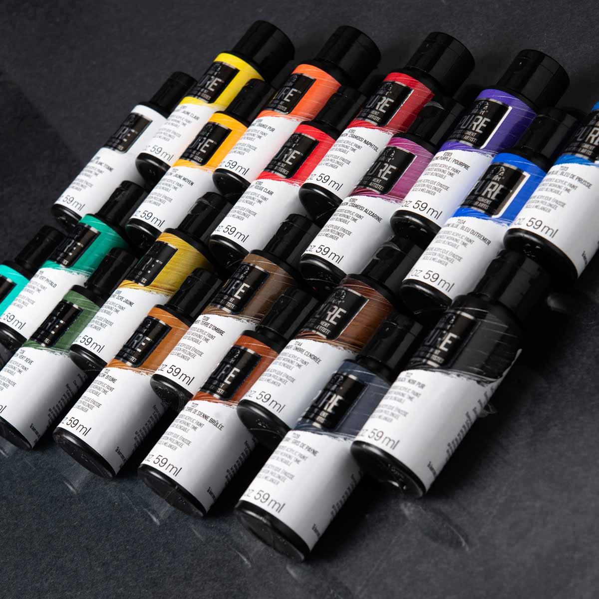 FolkArt ® Pure™ Artist Pigment Paints Sets - 20 Color Set - PROMOFAPAP2