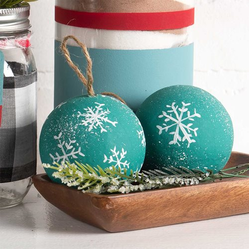 Christmas Snowflake Ornaments