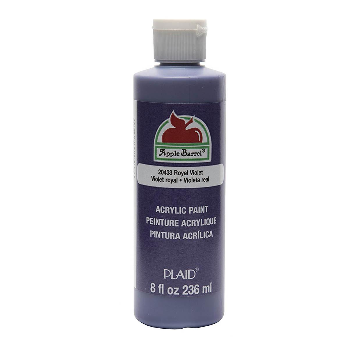 Apple Barrel ® Colors - Royal Violet, 8 oz.