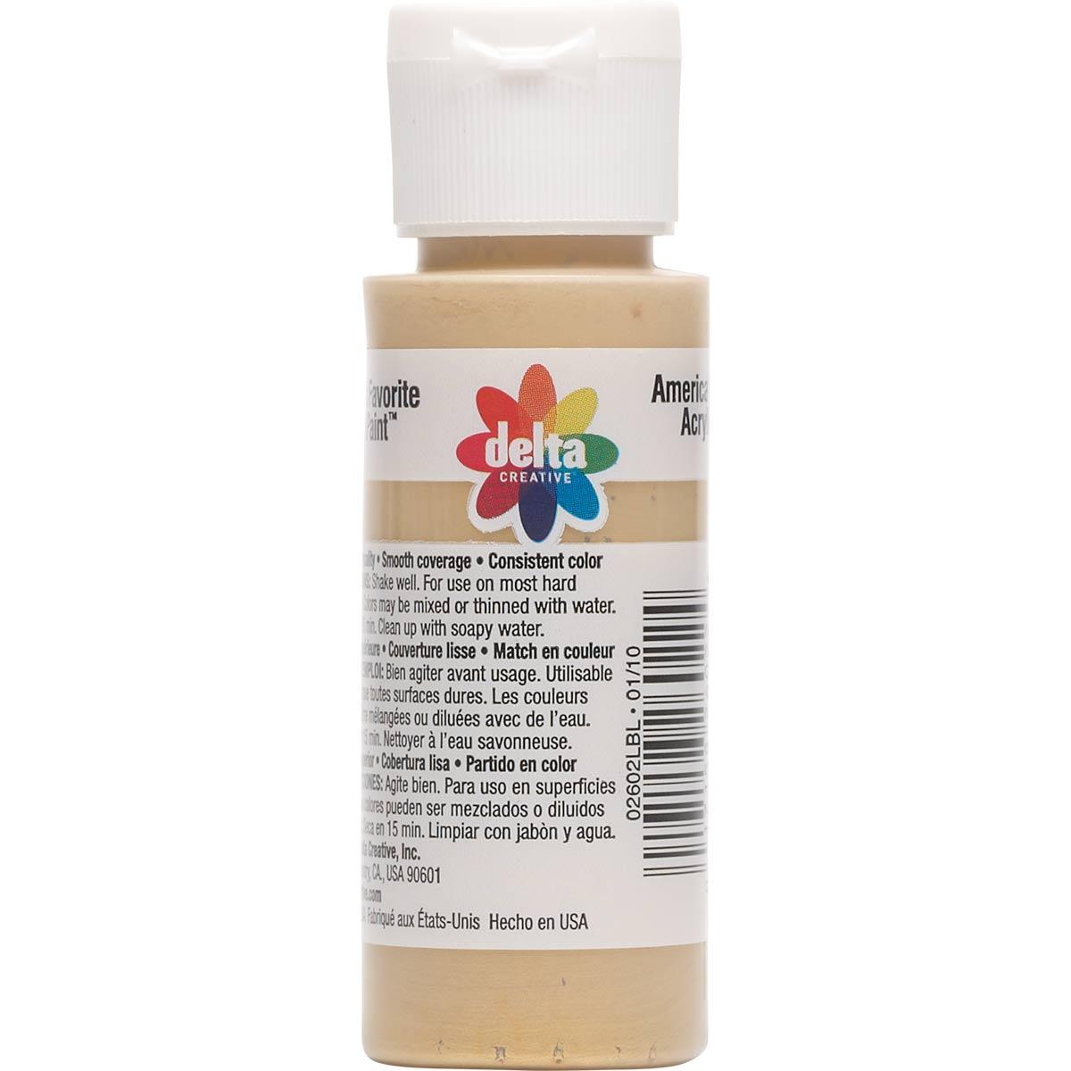 Delta Ceramcoat ® Acrylic Paint - Metallic Kim Gold, 2 oz. - 026020202W