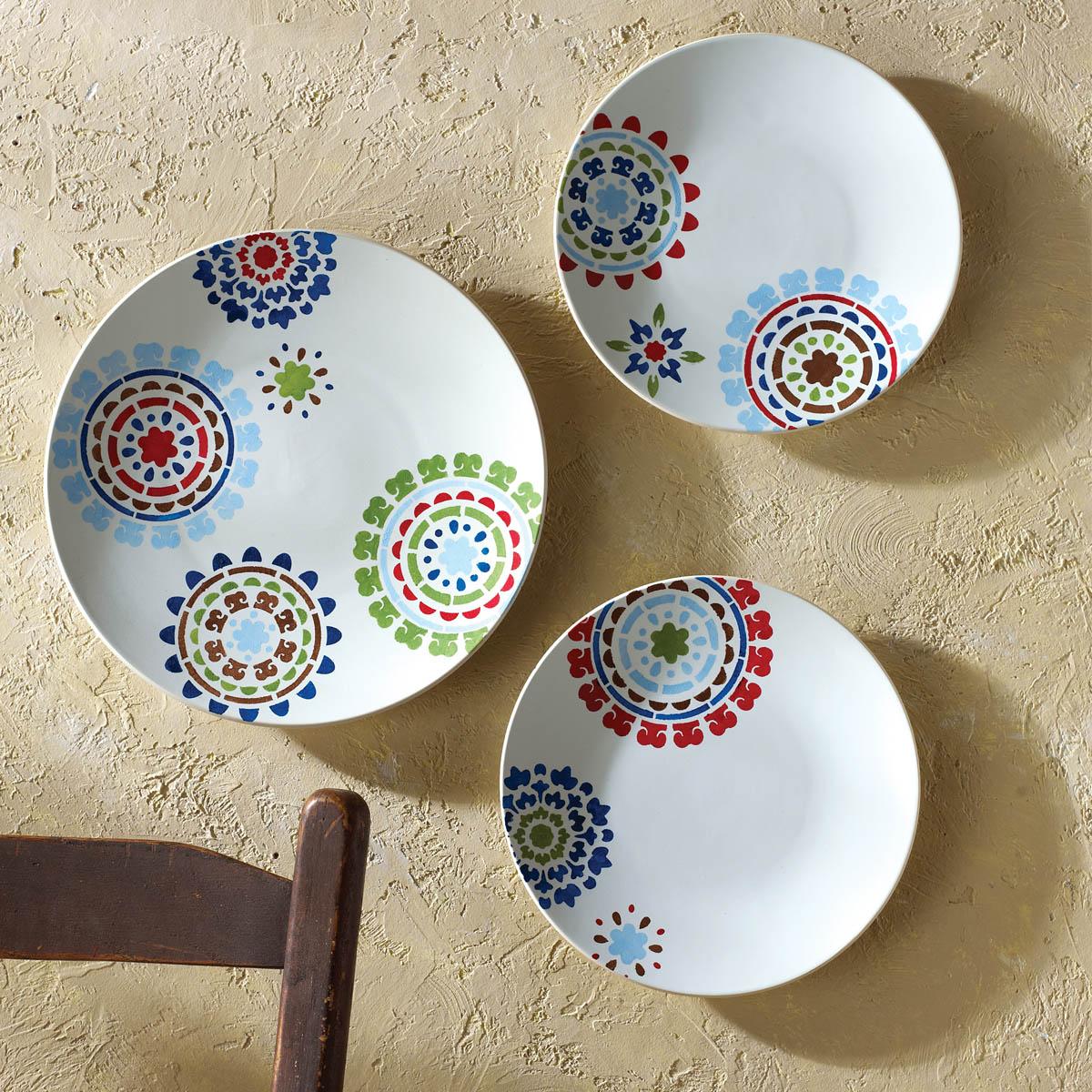 FolkArt ® Handmade Charlotte™ Stencils - Suzani Spendor - 30949