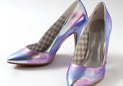 Leather Studio Iridescent Shoes