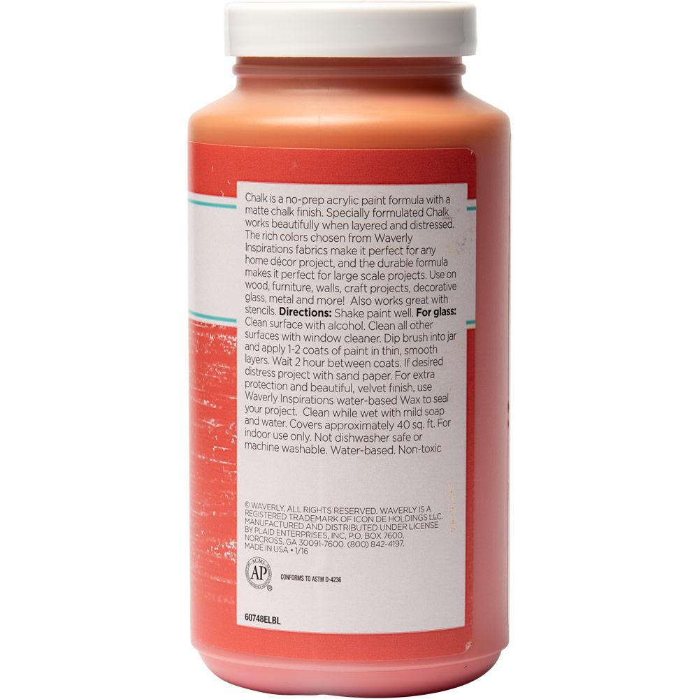 Waverly ® Inspirations Chalk Finish Acrylic Paint - Rhubarb, 16 oz. - 60748E