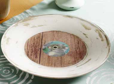 DIY Baby Shower Serving Plate