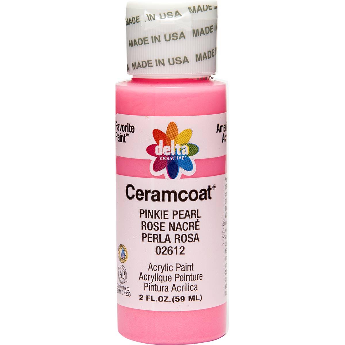 Delta Ceramcoat ® Acrylic Paint - Pinkie Pearl, 2 oz. - 026120202W