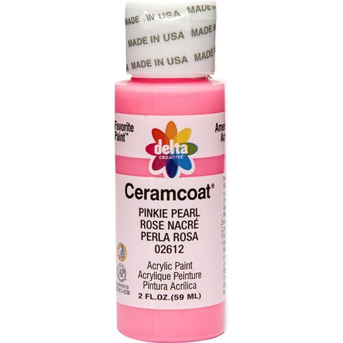 Delta Ceramcoat ® Acrylic Paint - Pinkie Pearl, 2 oz. - 026120202W