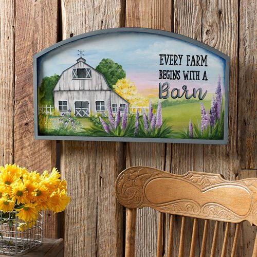 Every Farm Begins with a Barn