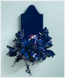 Wall Sconce - 'Glossy Glam'