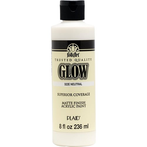 FolkArt ® Glow-in-the-Dark Acrylic Colors - Neutral, 8 oz. - 322E