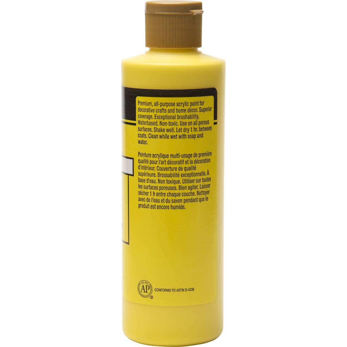 FolkArt ® Acrylic Colors - Daffodil Yellow, 8 oz. - 2326