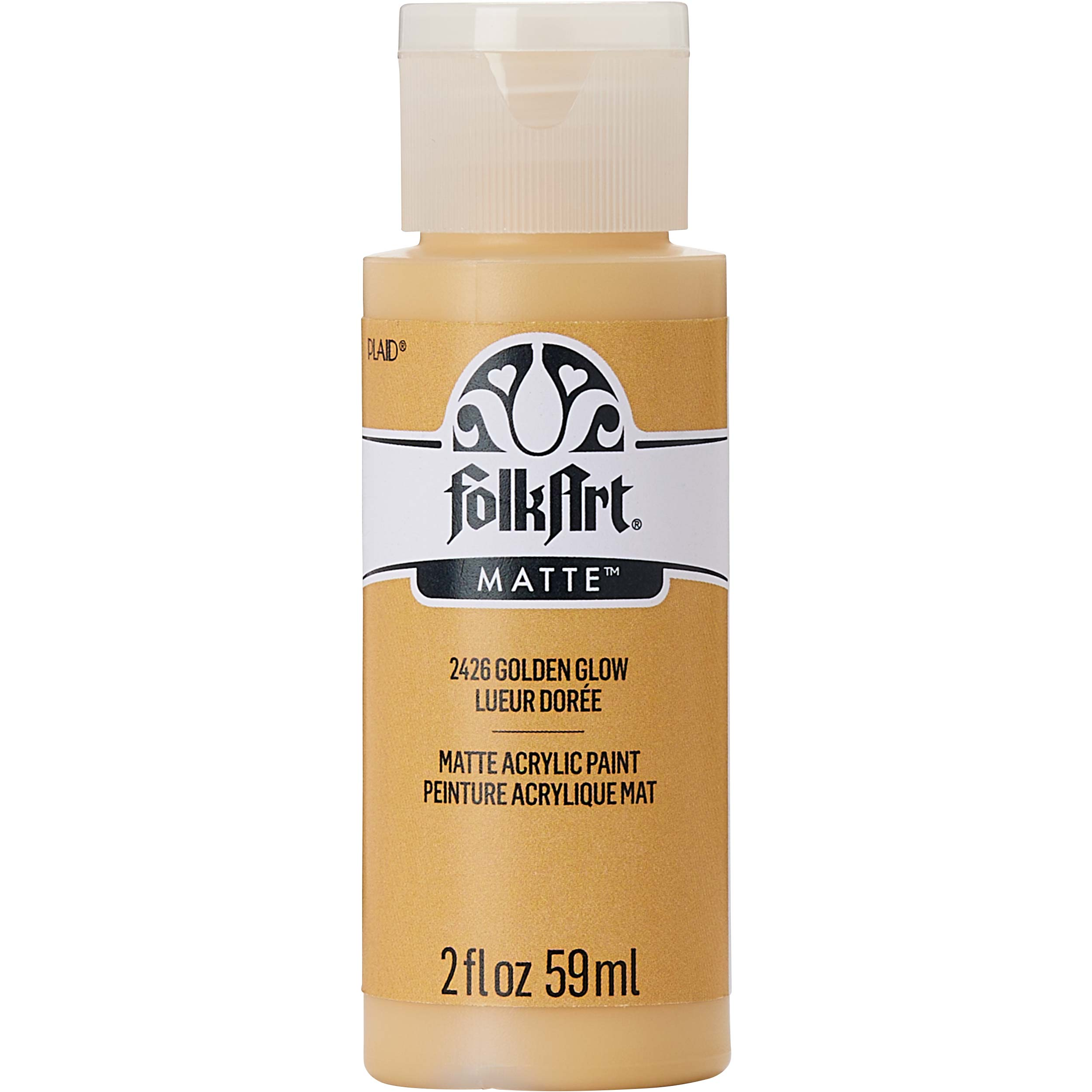 FolkArt ® Acrylic Colors - Golden Glow, 2 oz.