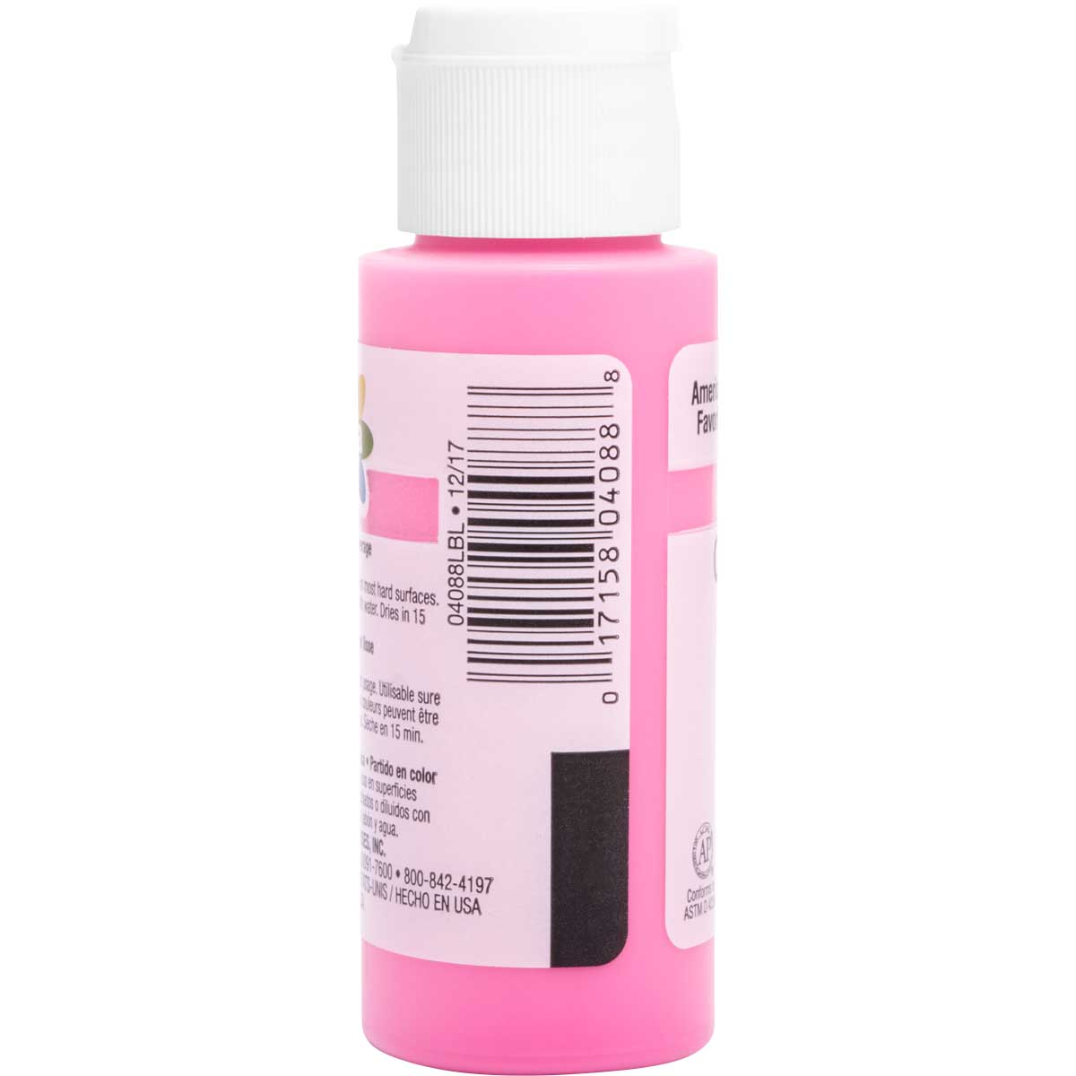 Delta Ceramcoat ® Acrylic Paint - Chic Pink, 2 oz. - 04088