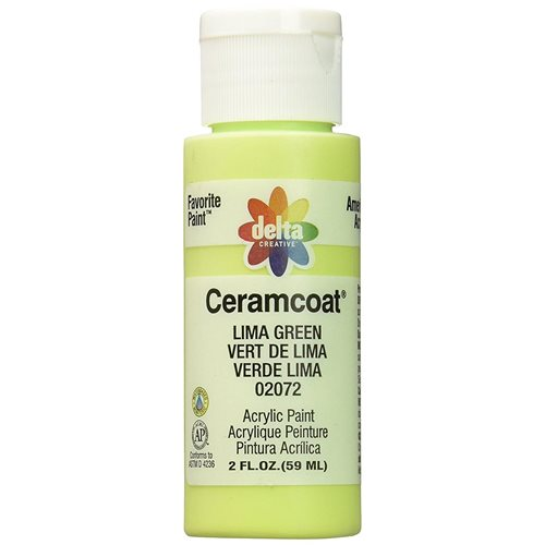 Delta Ceramcoat ® Acrylic Paint - Lima Green, 2 oz.