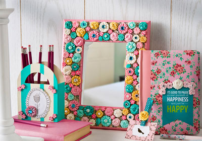 Mod Podge® Mod Melts Embellished Mirror