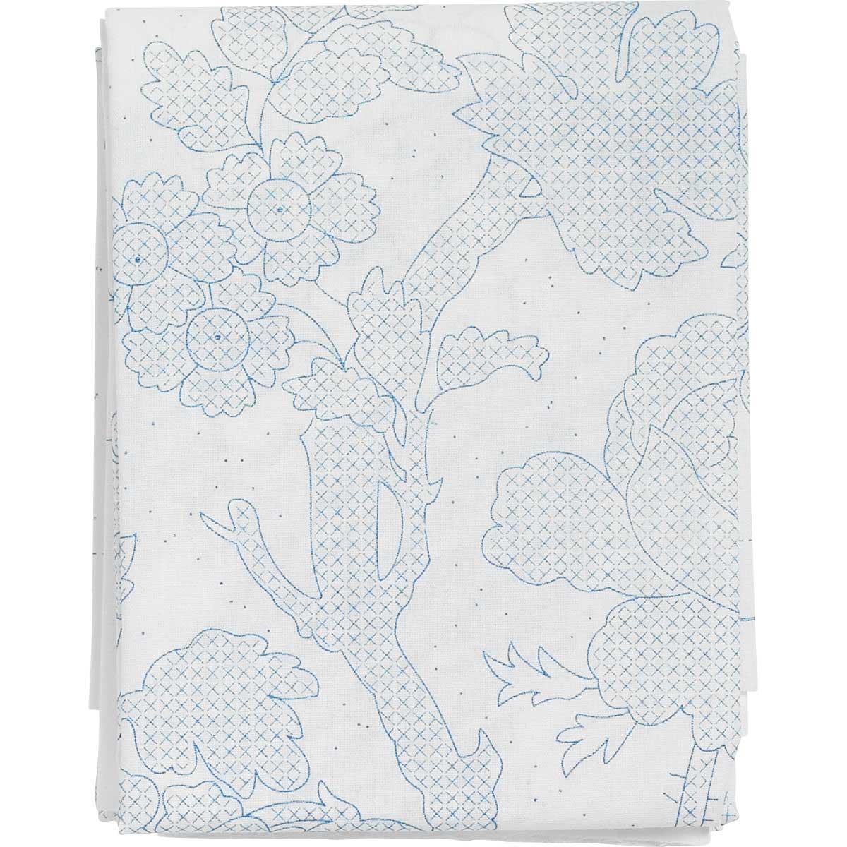Bucilla ® Waverly ® Charleston Chirp Collection Stamped Quilt Blocks