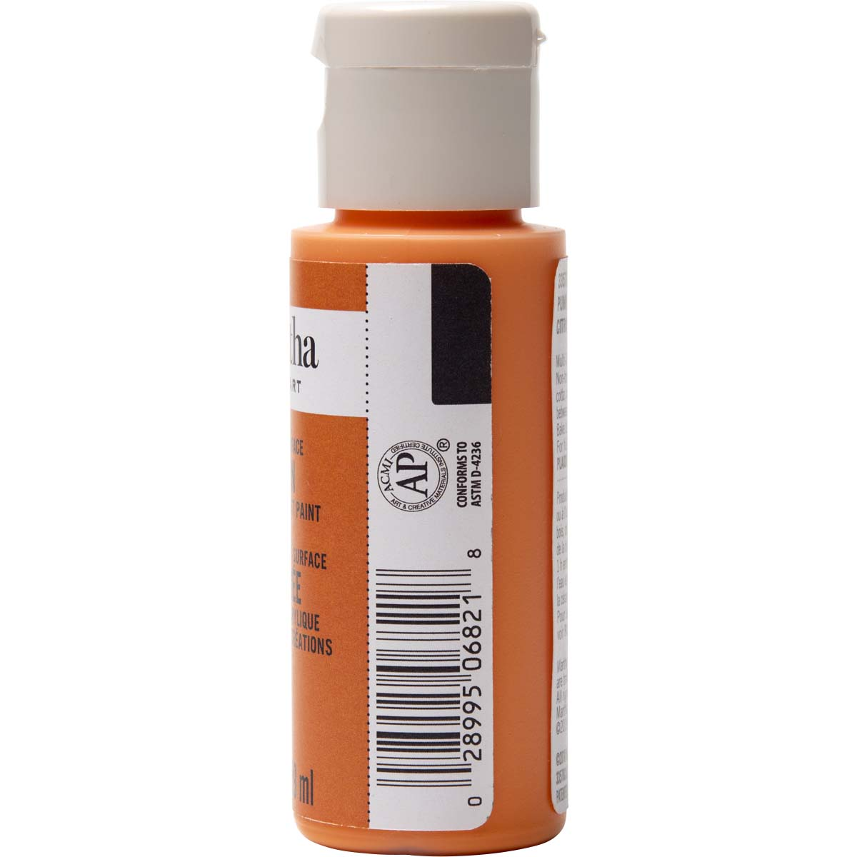 Martha Stewart ® Multi-Surface Satin Acrylic Craft Paint - Pumpkin, 2 oz.