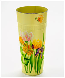 FolkArt ® One Stroke™ Spring Floral French Flower Bucket