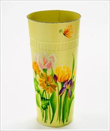 FolkArt ® One Stroke™ Spring Floral French Flower Bucket