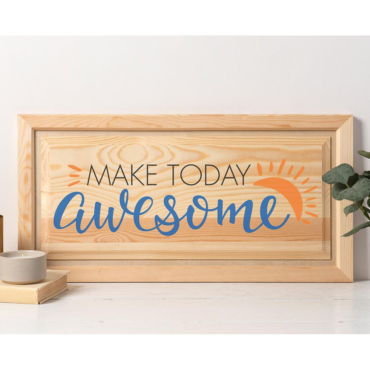 FolkArt ® Sign Shop™ Mesh Stencil - Make Today Awesome - 63385