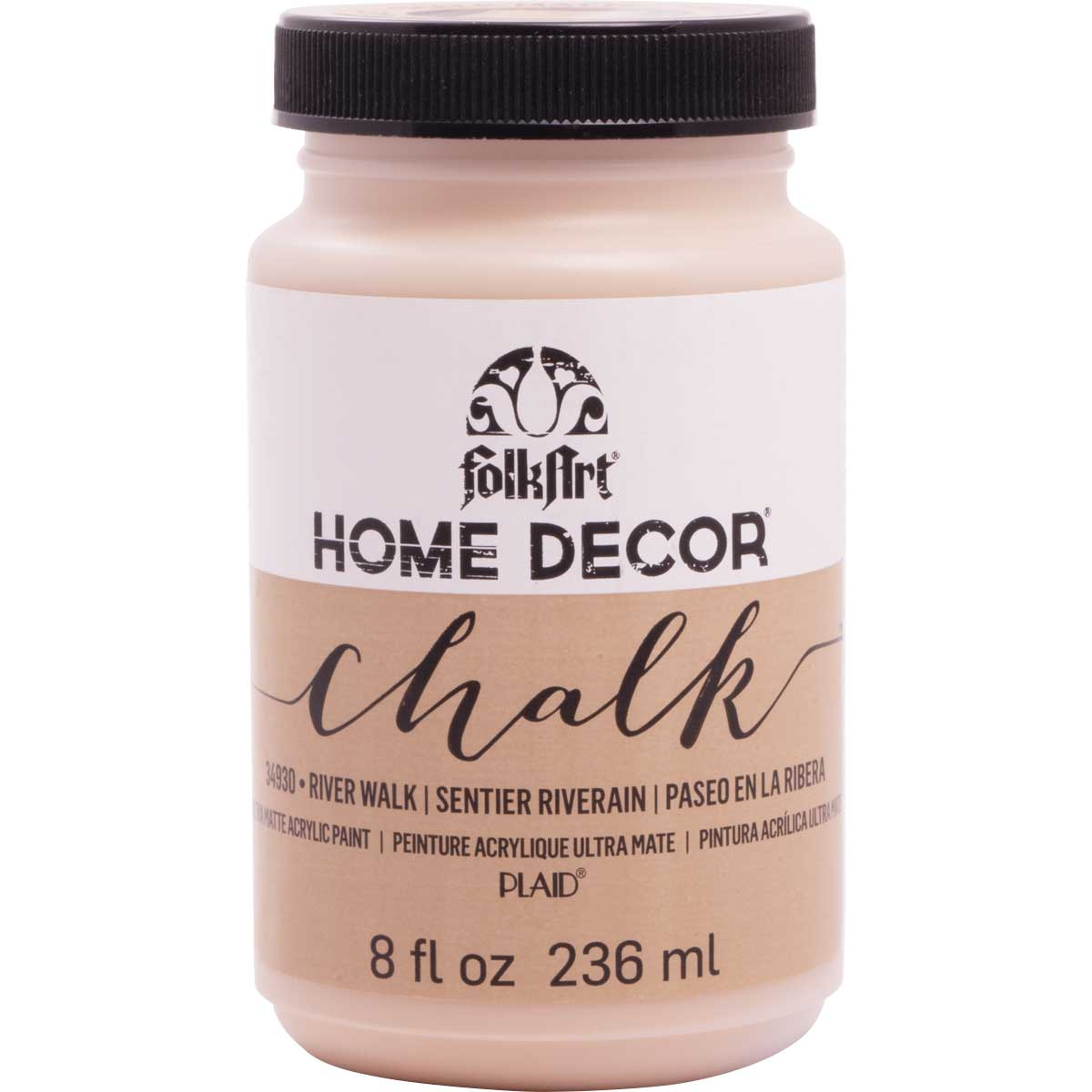 F/A HOME DECOR CHALK - RIVER WALK 8 OZ.