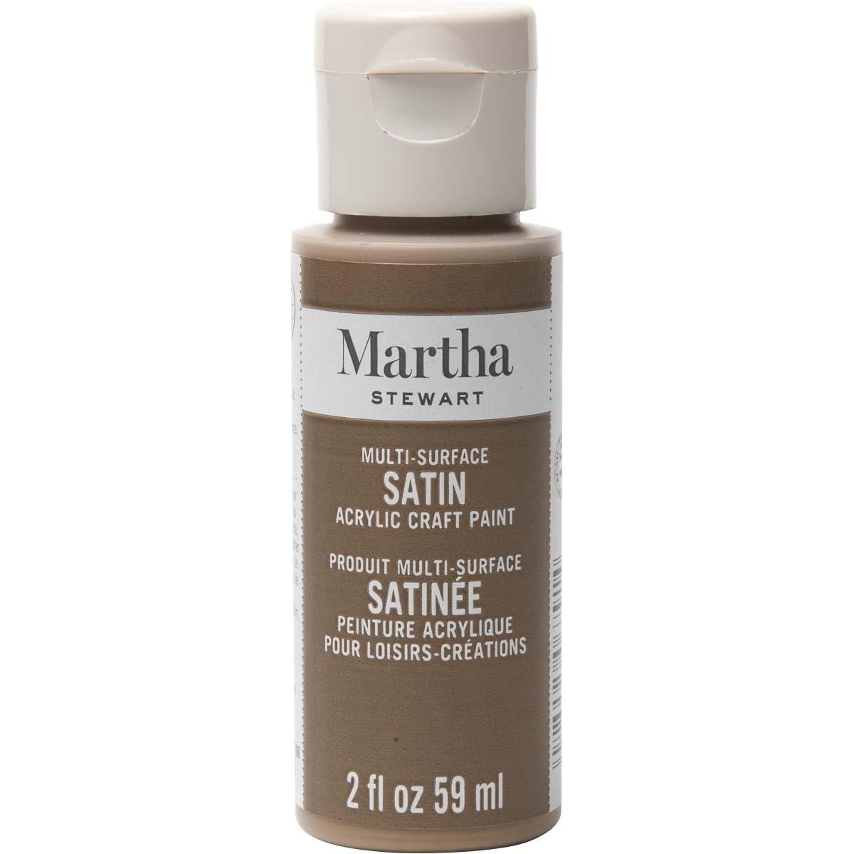 Martha Stewart® 2oz Multi-Surface Satin Acrylic Craft Paint - Sycamore Bark