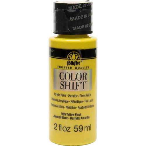 FolkArt ® Color Shift™ Acrylic Paint - Yellow Flash, 2 oz.