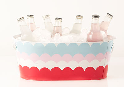 Scalloped Beverage Bucket