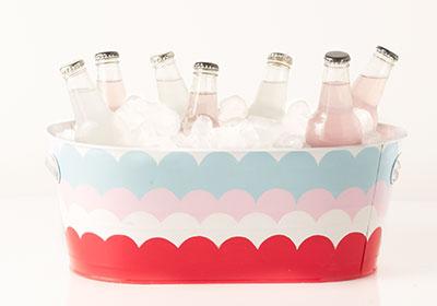 Scalloped Beverage Bucket