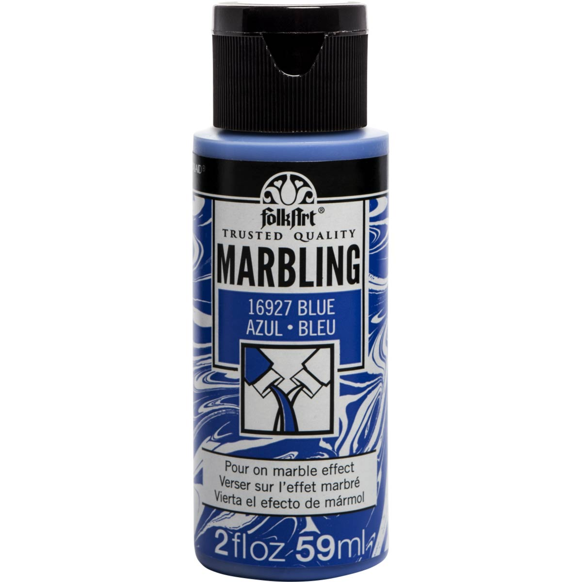 FolkArt ® Marbling Paint - Blue, 2 oz.