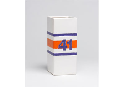 FolkArt Multi-Surface Paint Football Jersey Vase