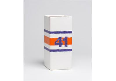 FolkArt Multi-Surface Paint Football Jersey Vase