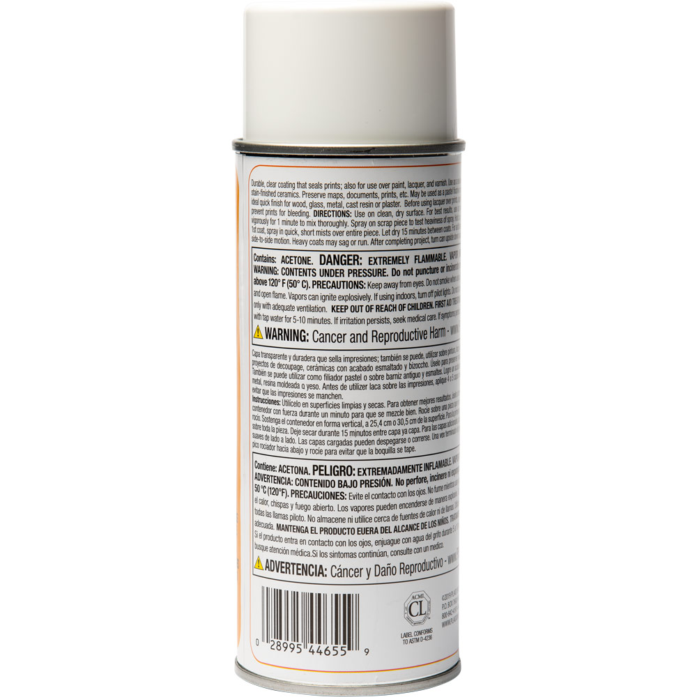 Mod Podge ® Clear Acrylic Sealer - Satin, 11 oz. - 44655