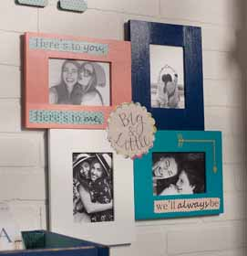 Personalized Greek Picture Frames