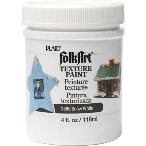 FolkArt ® Texture Paint - White, 4 oz.