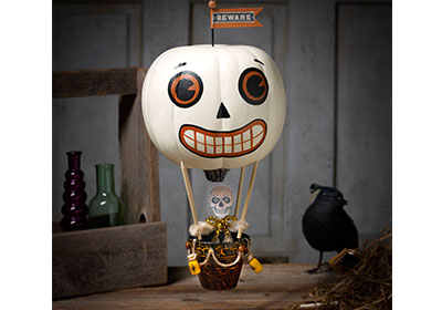 FolkArt Multi-Surface Paint Spooky Sailings Pumpkin Balloon