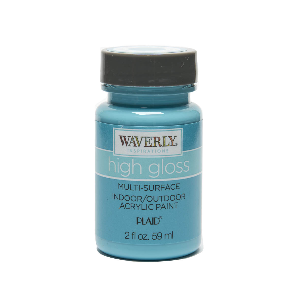 Waverly ® Inspirations High Gloss Multi-Surface Acrylic Paint - Lagoon, 2 oz.