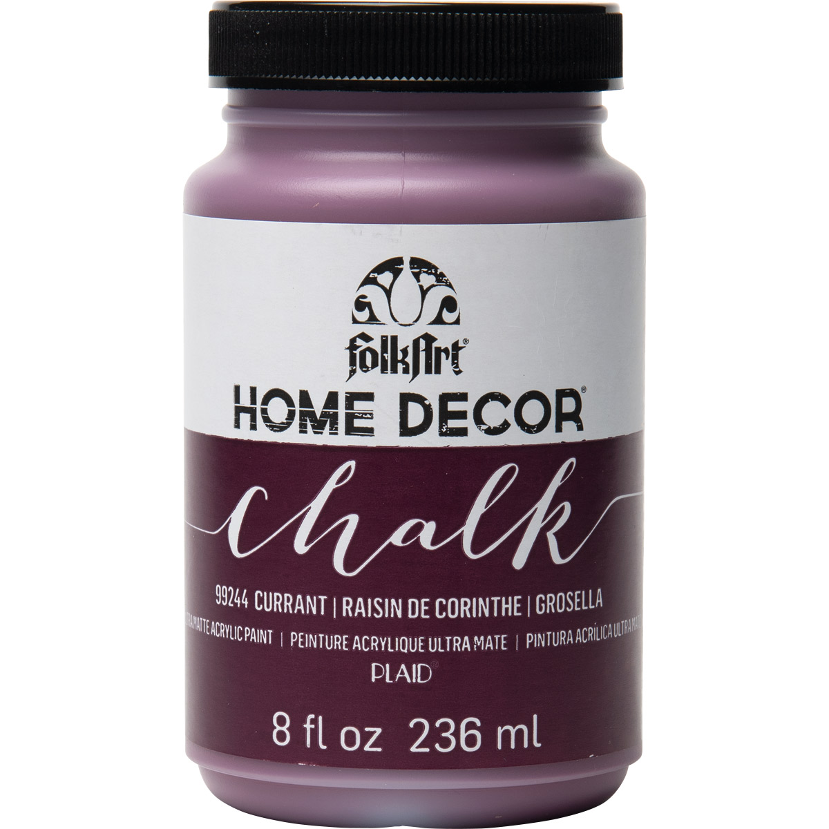 FolkArt ® Home Decor™ Chalk - Currant, 8 oz.