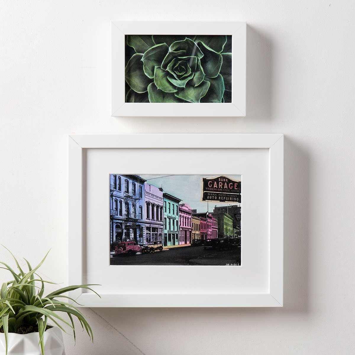 Watercolor Acrylic Tinted Photos