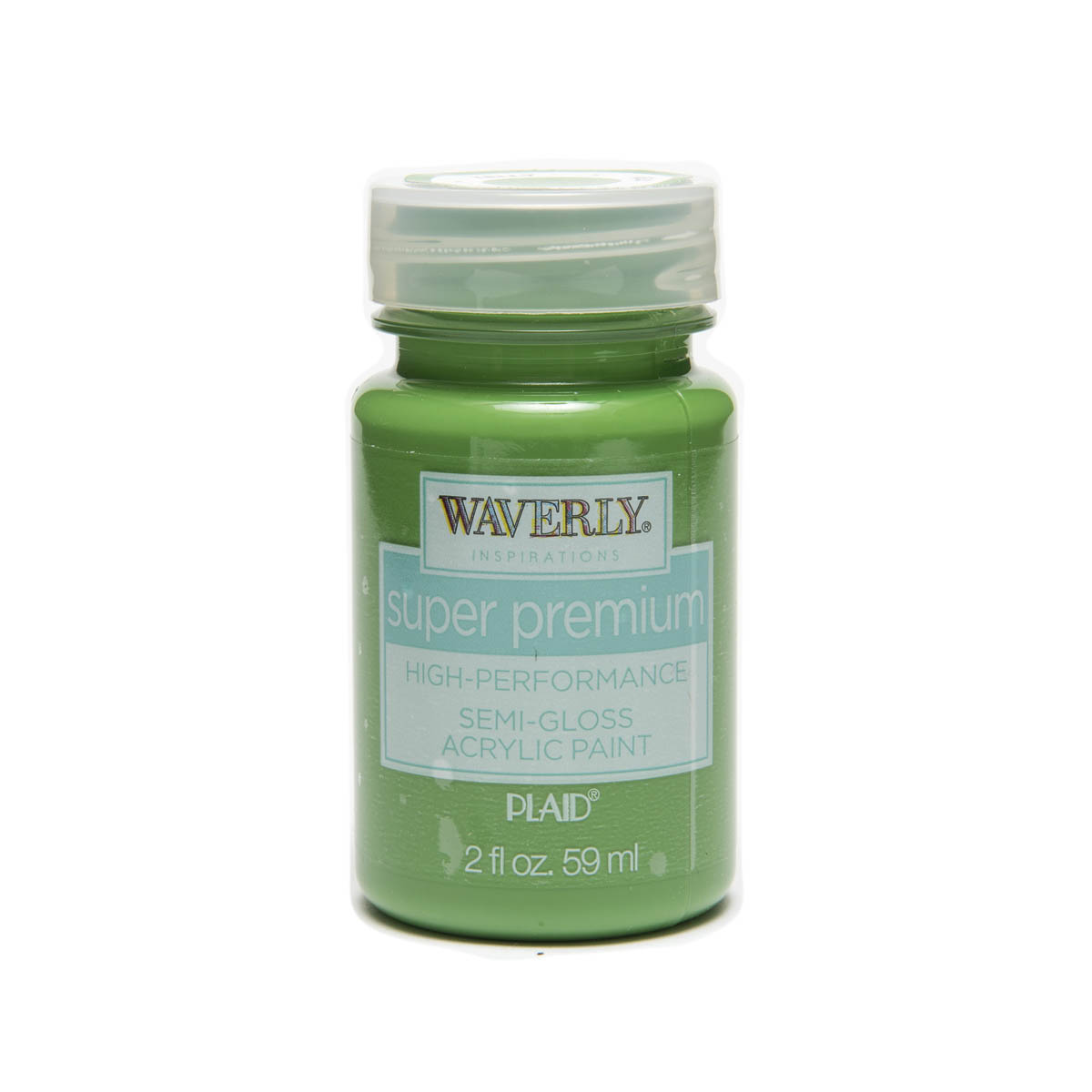 Waverly ® Inspirations Super Premium Semi-Gloss Acrylic Paint - Kelly, 2 oz.