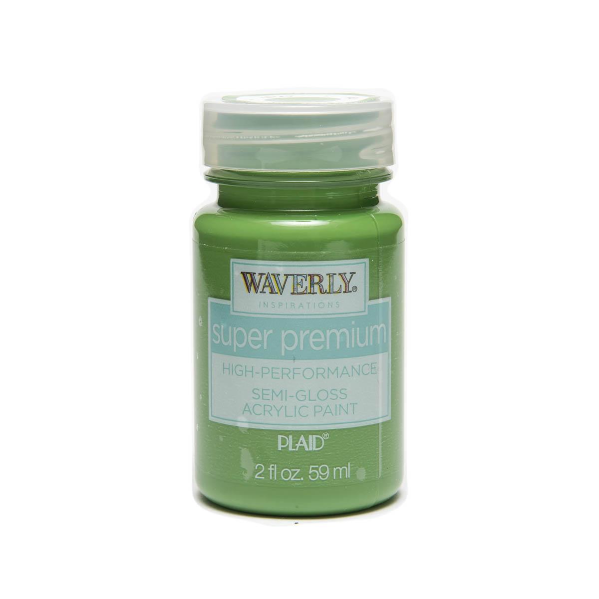 Waverly ® Inspirations Super Premium Semi-Gloss Acrylic Paint - Kelly, 2 oz. - 60627E