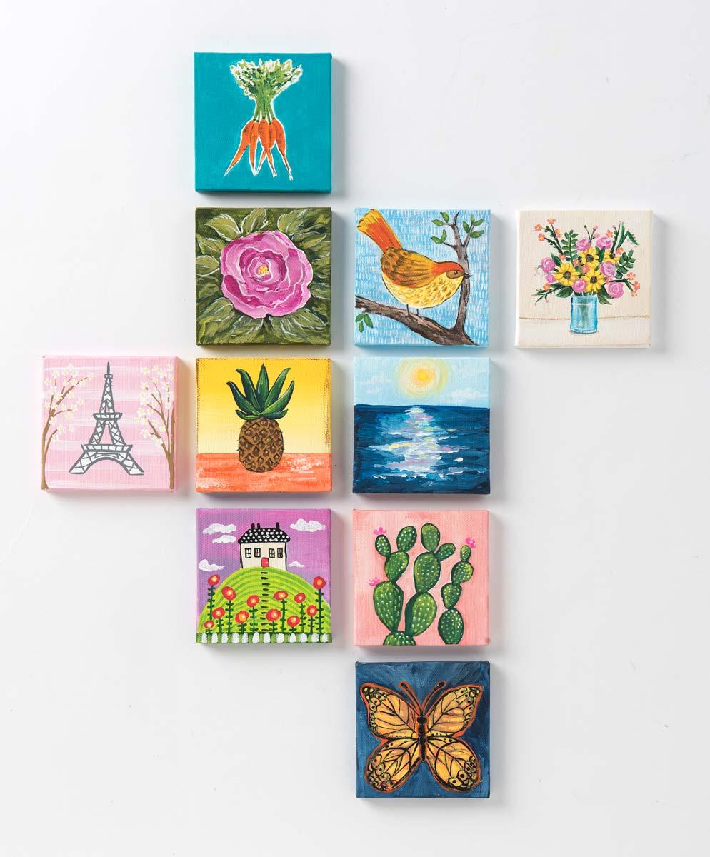 Delta Ceramcoat ® Paint Sets - Brights, 18 Colors - PROMOCMC2