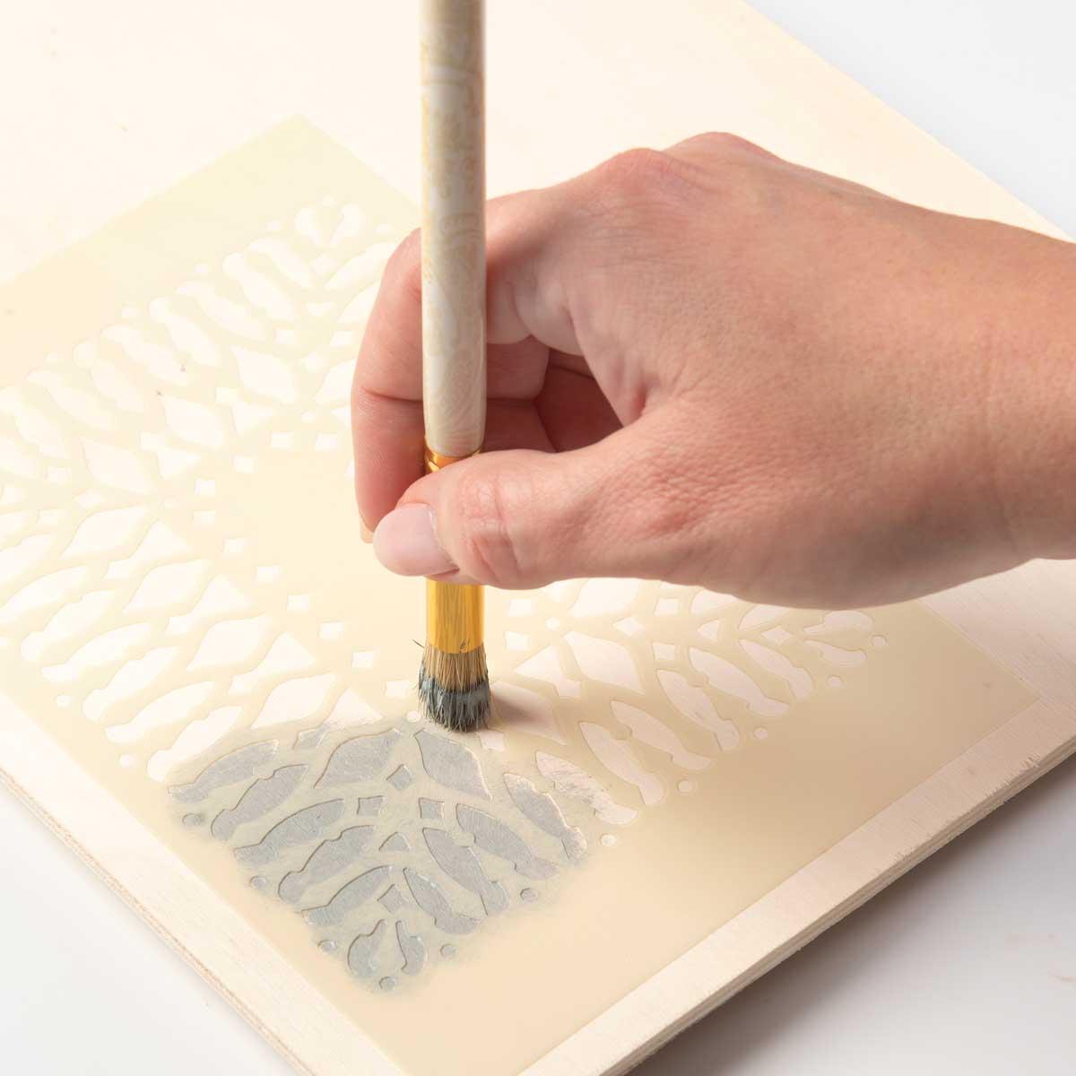 Anna Griffin ® Stencil Brush Set, 5 piece
