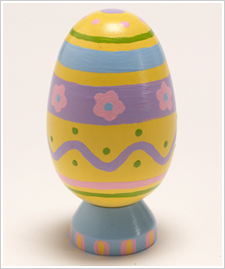 Pastel Painted Egg